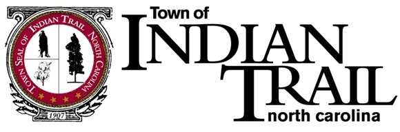 Town seal of Indian Trail