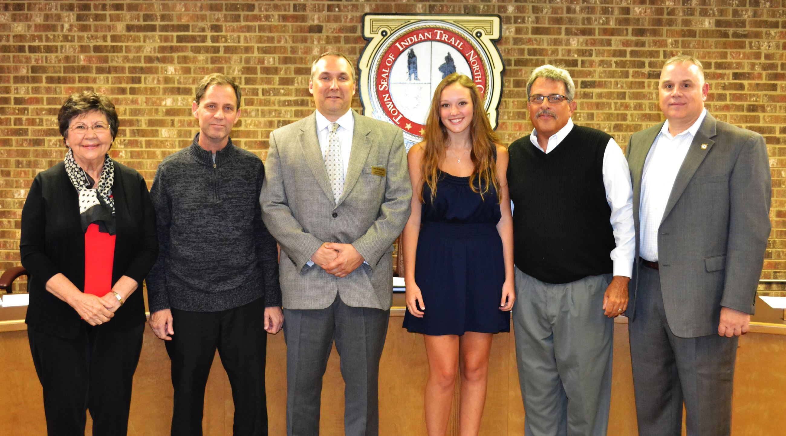Kayla Price with the Indian Trail Town Council