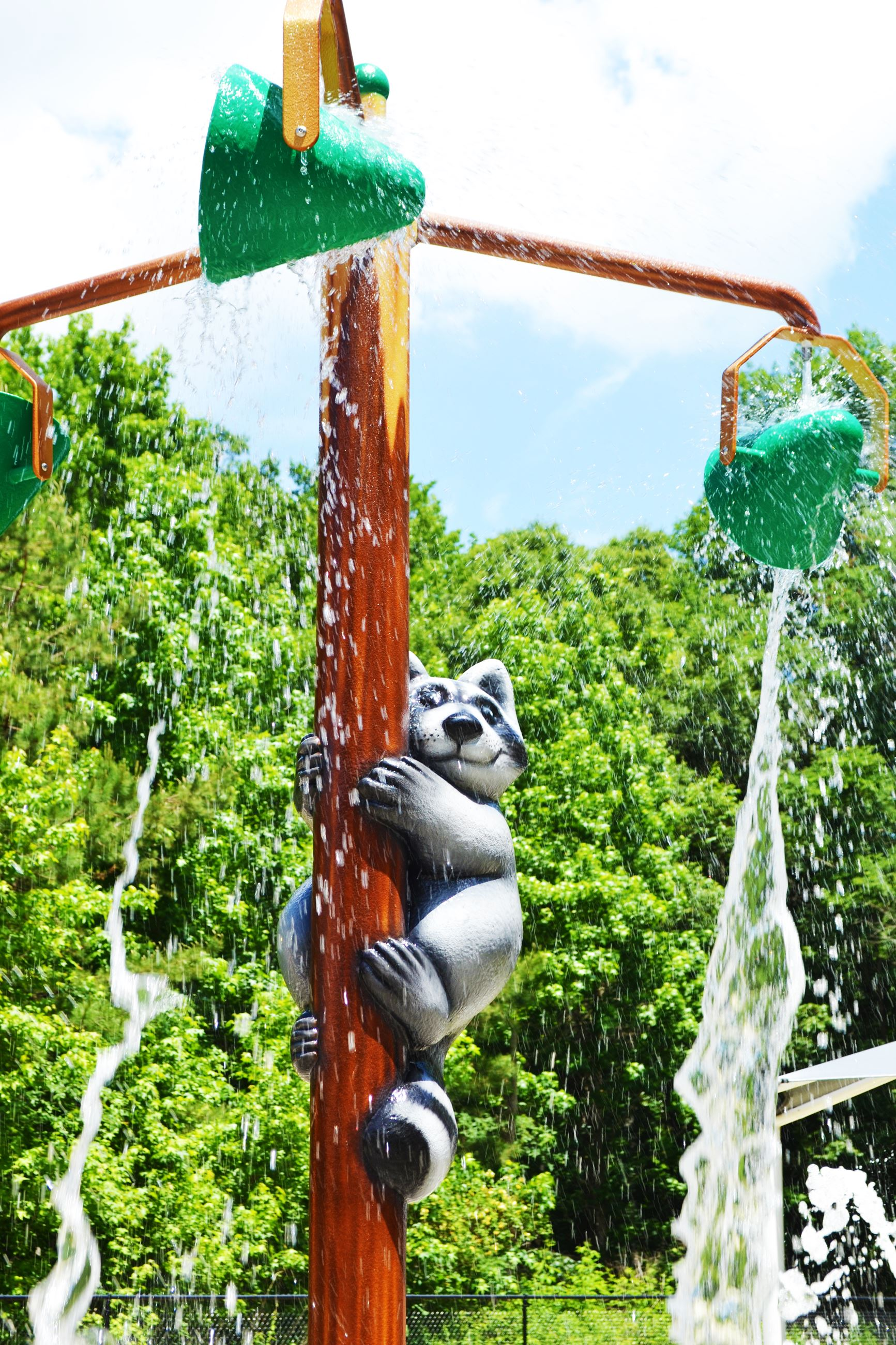 Splashpad centerpiece