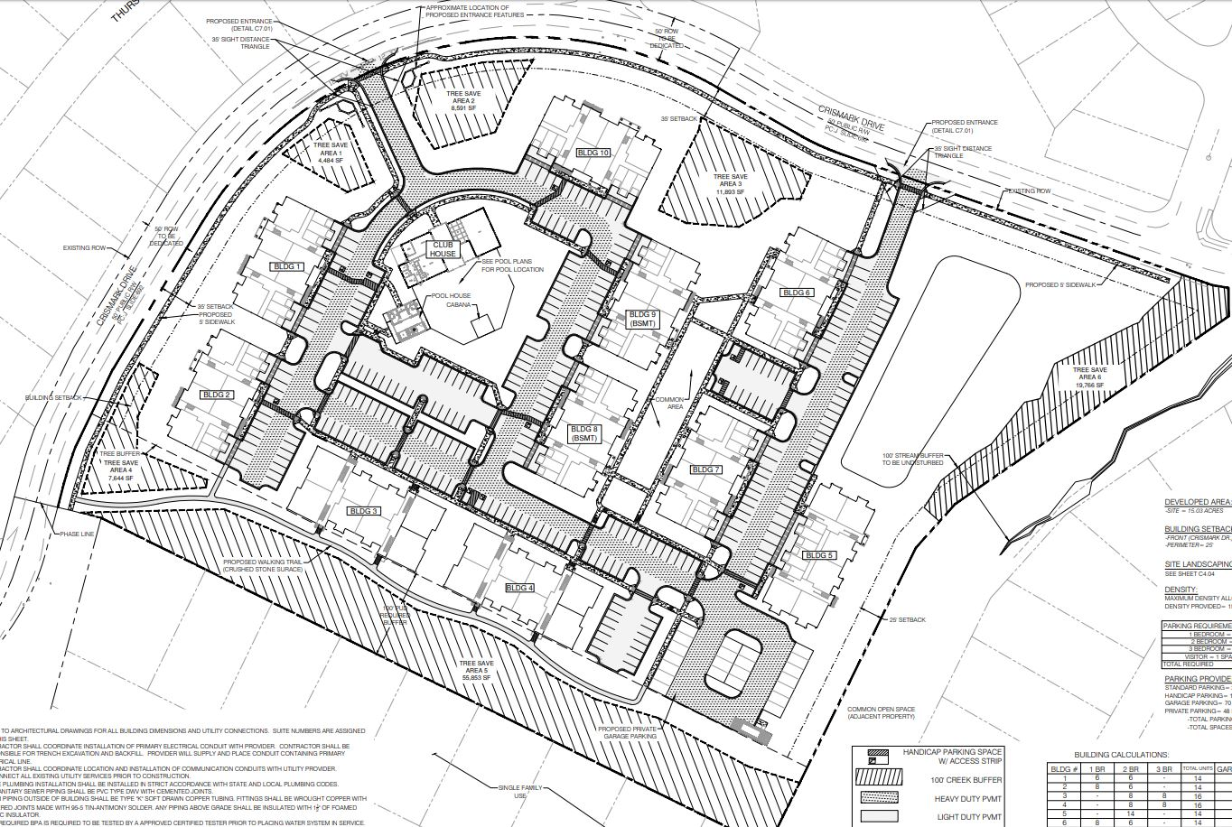 Terra Novus Development Site Plan