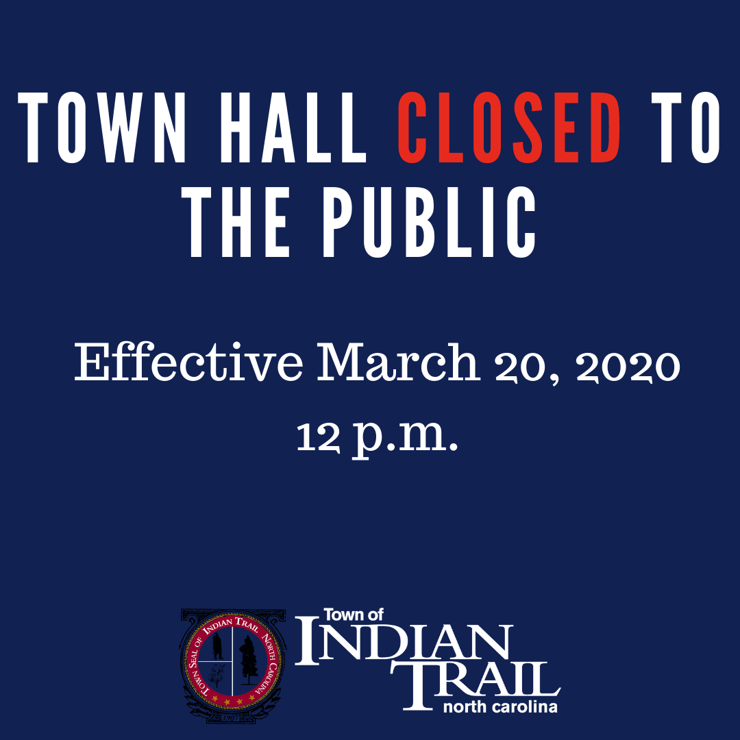 Town Hall Closed