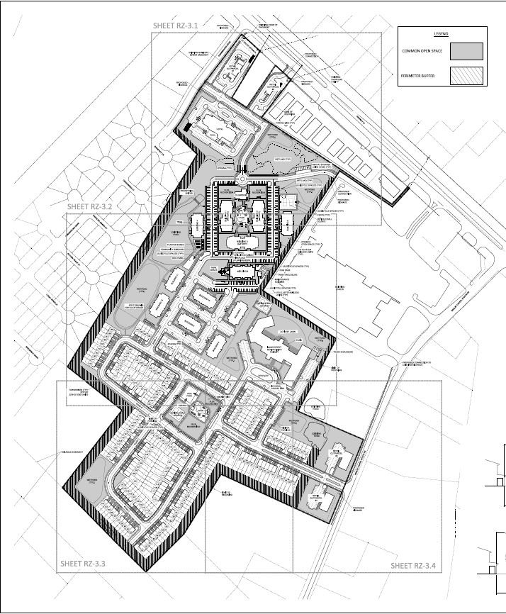 Sun Valley Marketplace Site Plan