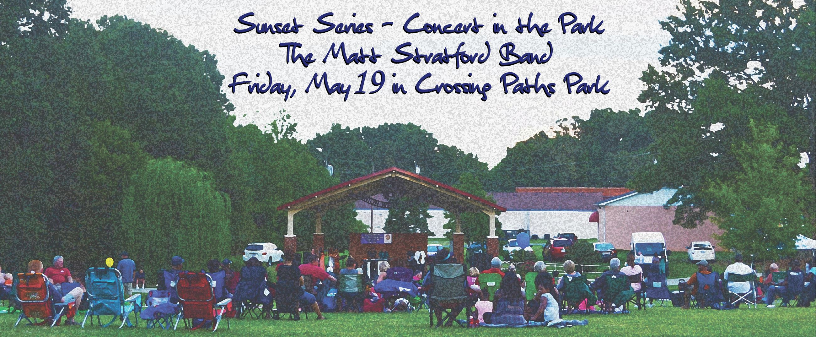 Sunset Series Concert on May 19