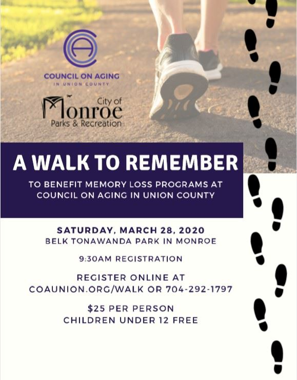 A Walk to Remember Event Flyer