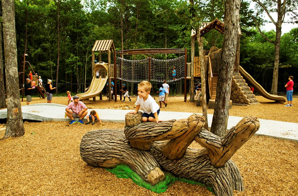 Crooked Creek Park playground