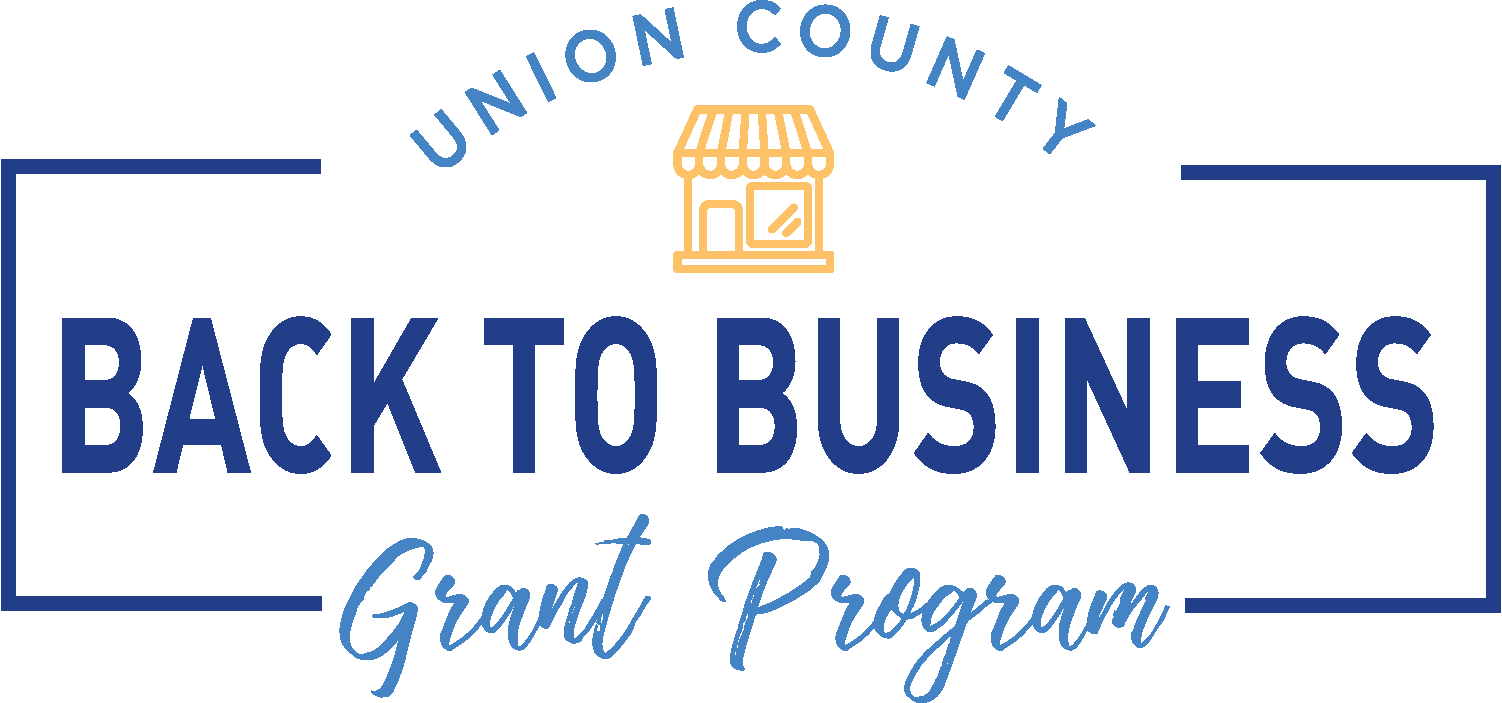 Union County Back to Business Grant Program Logo
