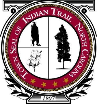 Town Seal of Indian Trail North Carolina
