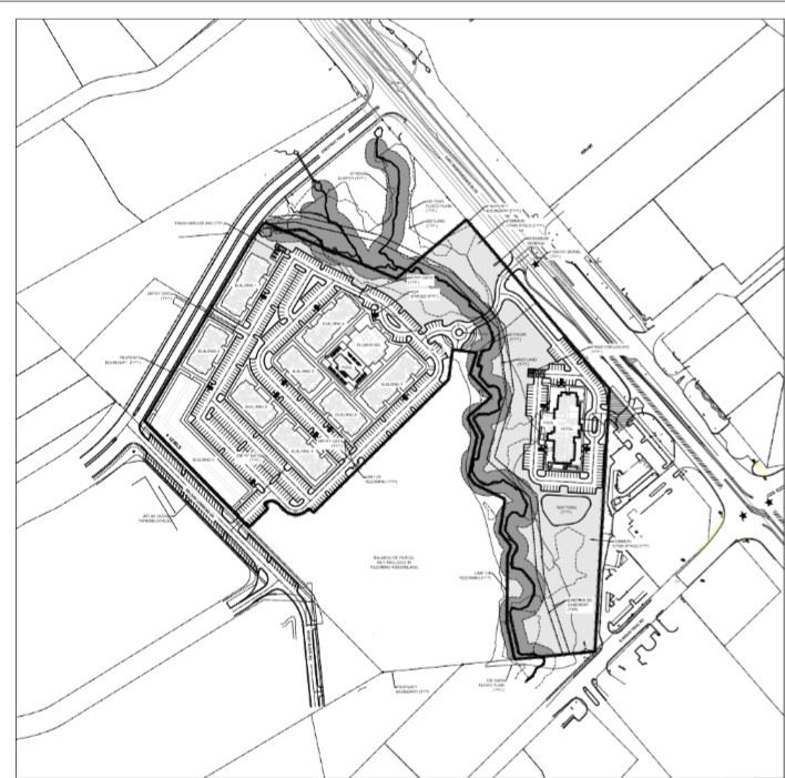 Elan at Indian Trail Apartments and Hotel Site Plan